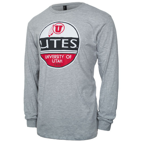 Cover Image For Techstyles Utes 1850 Circle Logo Long Sleeve Tee