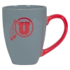 Image for Utah Utes Athletic Logo Greystone Mug