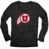 Image for Blue 84 Distressed Athletic Logo Long Sleeve Tee