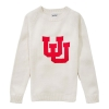 Image for Utah Utes Cream Sweater with Interlocking U