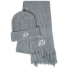 Image for Top of the World Utah Athletic Logo Beanie and Scarf Set