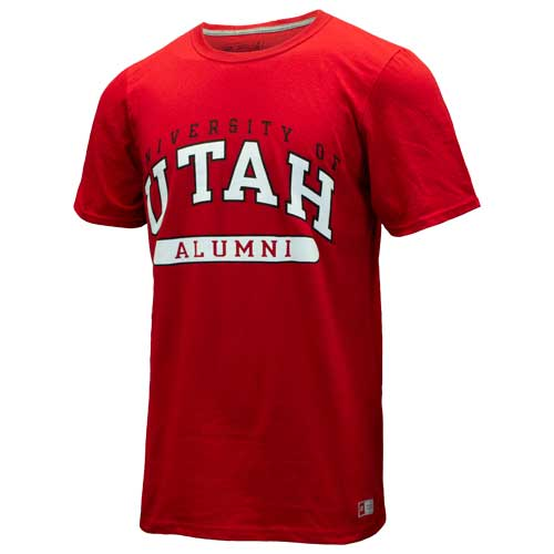Image For Russell Athletic University of Utah Alumni Tee