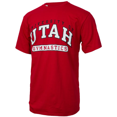 Image For Russell Athletic University of Utah Gymnastics Tee