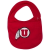 Image for Utah Athletic Logo Red Infant Bib