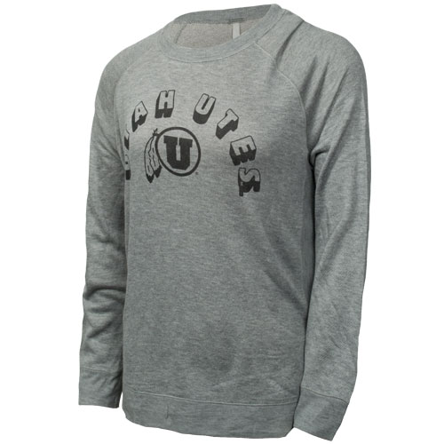 Image For Techstyles Utah Utes Athletic Logo Womens Sweatshirt