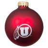 Image for Athletic Logo Matte Red Ornament