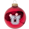 Image for Utah Utes Block U Gloss Red Ornament