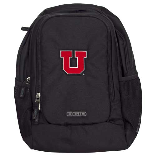 Image For Utah Utes Ogio Block U Black Backpack