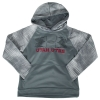 Image for Under Armour Utah Utes Electro Youth Hooded Sweatshirt