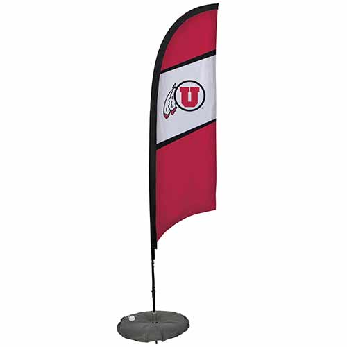 Image For Utes Razor Sail Sign With Scissor Base
