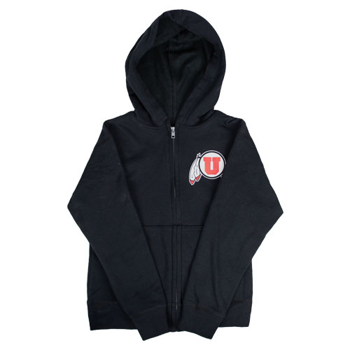 Image For Athletic Logo Youth Full Zip Hoodie