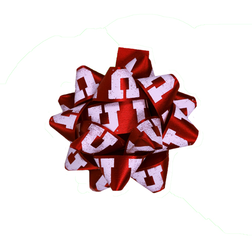 Image For Block U University of Utah Gift Bow
