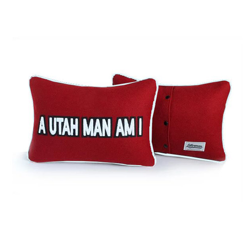 Image For A Utah Man Am I Letterman Pillow