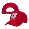 Image for Utah Utes Block U Basketball Adjustable Hat