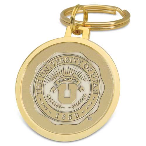 Image For University of Utah Medallion Keyring