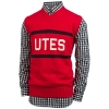 Image for Utah Utes Hillflint Red Sweater Vest