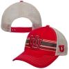 Image for Top of the World Interlocking U Striped Mesh Adjustable Hat