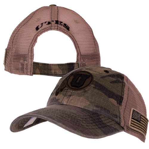 Cover Image For Top of the World Athletic Logo Camouflage Adjustable Hat