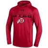 Image for Under Armour Utes Athletic Logo Hooded Sweatshirt