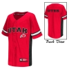 Image for Colosseum Utah Utes Athletic Logo Baseball Youth Jersey