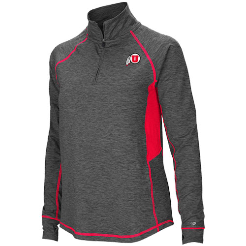 Cover Image For Women's Athletic Logo Quarter Zip Pullover