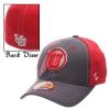 Image for Zephyr Bold Red Athletic logo Kids Flex fit hat