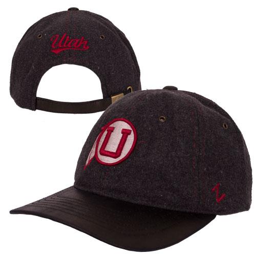 huge selection of d72ff 18480 Cover Image For Zephyr Throwback Athletic Logo Wool Adjustable Hat