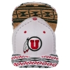 Image for Zephyr Athletic Logo Toa Collection Adjustable White Hat