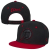 Image for Zephyr Athletic Logo Black and Red Adjustable Youth Hat