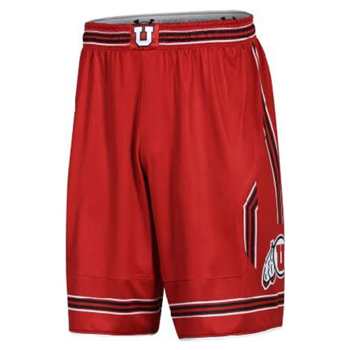Cover Image For Utah Utes Under Armour Basketball Shorts