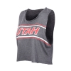 Image for Zoozatz Utah Womens Crop Top Tank Top