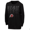 Image for GIII Gradient Utah Utes Athletic Logo Women's Sweatshirt