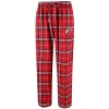 Image for Men's Plaid Atheltic Logo Pajama Pants