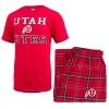 Cover Image for Women's Utah Utes Athletic Logo Pajama Sleep Set