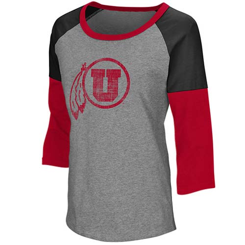 Cover Image For Colosseum Athletic Logo Long Sleeved Womens T-Shirt