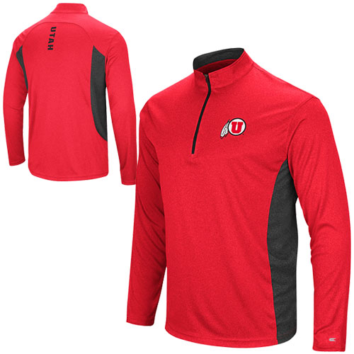 Cover Image For Colosseum Athletic Logo Two Tone Quarter Zip Pullover