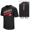 Image for Colosseum Utah Utes Athletic Logo Mens Black T-Shirt