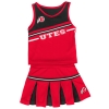 Image for Colosseum Utes Athletic Logo Cheerleader Infant Outfit