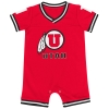 Image for Colosseum Utah Athletic Logo Jersey Romper Onesie