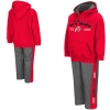 Image for Colosseum Utah Athletic Logo Toddler Hoodie and Pant Set