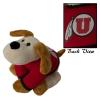 """Image for 8"""" Athletic Logo Floppy Dog Plush"""