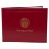 Image for Deluxe Red University of Utah Medallion Logo Diploma Cover