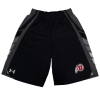 Image for Under Armour Black and Grey Athletic Logo Youth Shorts
