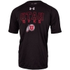 Image for Under Armour Utah Utes All Black T-Shirt