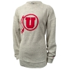 Image for League Womens Athletic Logo Terry Cloth Sweater