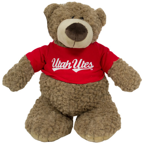 Image For Utah Utes Archie Teddy Bear