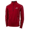 Image for Utah Utes Athletic Logo Columbia Quarter Zip Mens Pullover