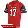 Image for Under Armour 2017 Utah Utes Football Jersey Red