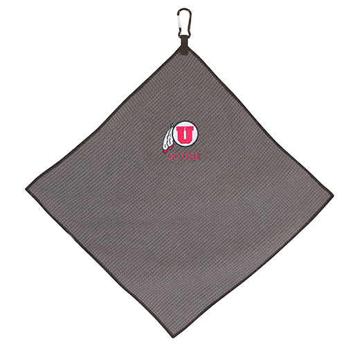 Image For Go Utes Microfiber Golf Towel