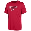 Image for Champion Utah UTES Athletic logo Red T-shirt